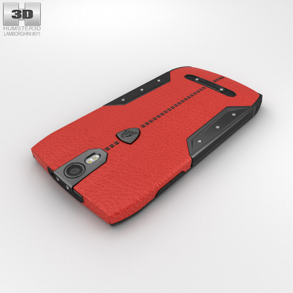 Tonino Lamborghini 88 Red 3d Model Hum3d