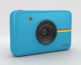 Polaroid Snap Instant Digital Camera Blue 3D model