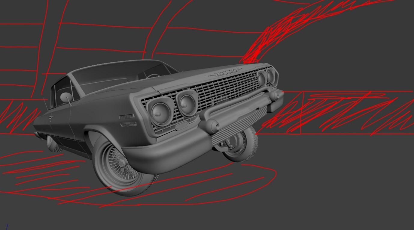 Dancing car