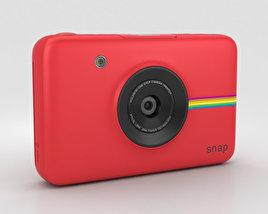Polaroid Snap Instant Digital Camera Red 3D model