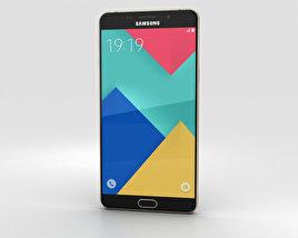 Samsung Galaxy A9 (2016) Champagne Gold 3D model