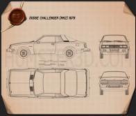 Dodge Challenger 1978 Blueprint