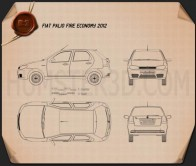 Fiat Palio Fire Economy 2012 Blueprint