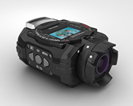 Ricoh WG-M1 Black 3D model