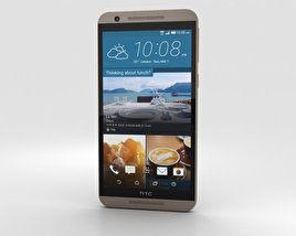 HTC One E9s Dual Sim Roast Chestnut 3D model