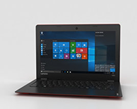 Lenovo Ideapad 100S Red 3D model