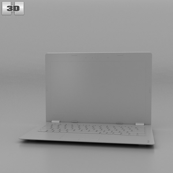 Lenovo Ideapad 100S White 3D model