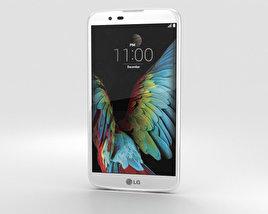 LG K10 White 3D model