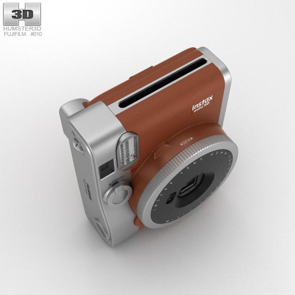 fujifilm instax mini 90 brown 3d model hum3d. Black Bedroom Furniture Sets. Home Design Ideas