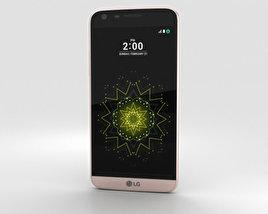 LG G5 Pink 3D model