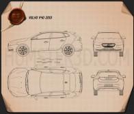 Volvo V40 2013 Blueprint