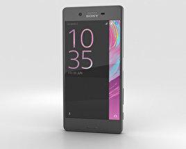 Sony Xperia X Graphite Black 3D model