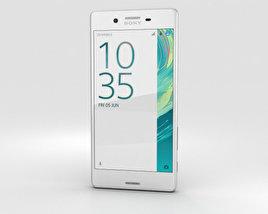 Sony Xperia X White 3D model