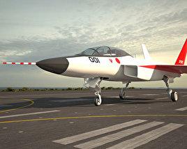 Mitsubishi ATD-X Shinshin 3D model
