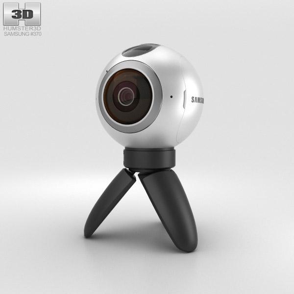 Højmoderne Samsung Gear 360 Camera 3D model - Electronics on Hum3D FC-51