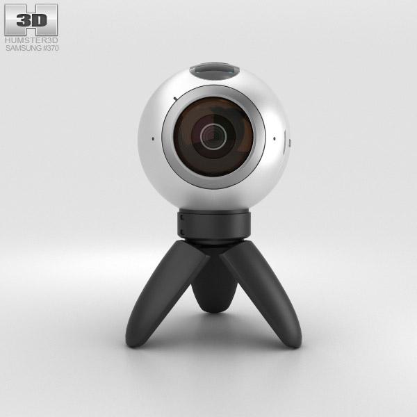 samsung gear 360 camera 3d model hum3d. Black Bedroom Furniture Sets. Home Design Ideas
