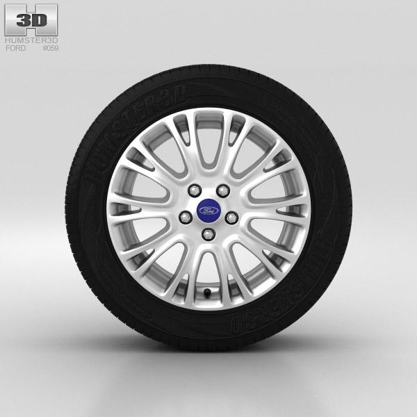 Ford Grand C Max Wheel 16 inch 004 3d model