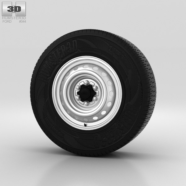 Ford Ranger Wheel 16 inch 001 3d model
