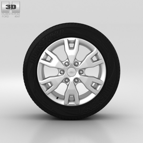 Ford Ranger Wheel 18 inch 001 3d model