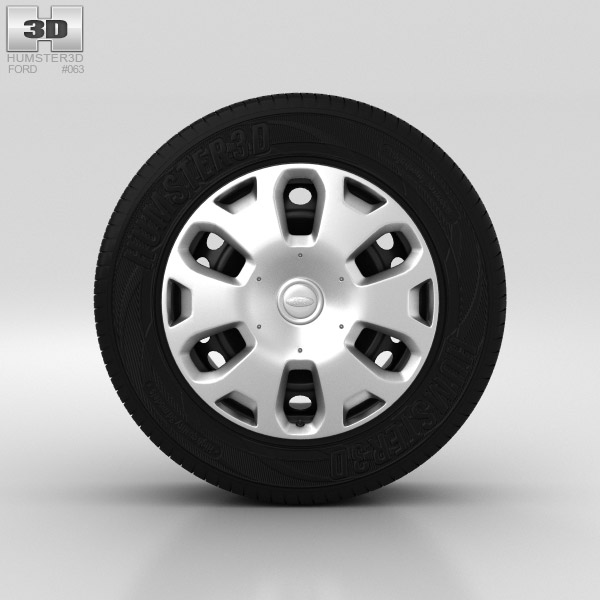 Ford Tourneo Connect Wheel 15 inch 001 3d model