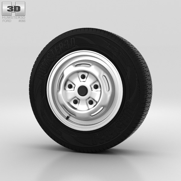 Ford Transit Wheel 15 inch 001 3d model