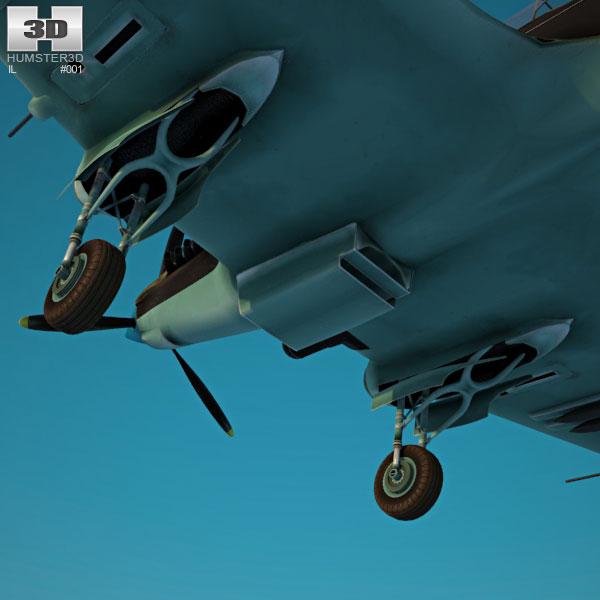 Ilyushin Il-2 Sturmovik 3D Model