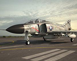 McDonnell Douglas F-4 Phantom II 3D model