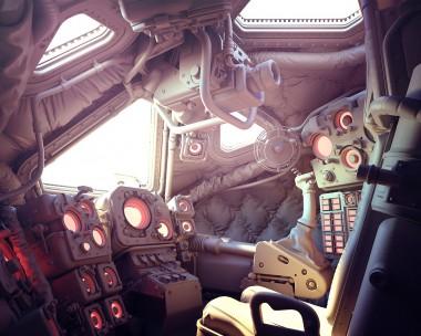 TFMS-9C cockpit