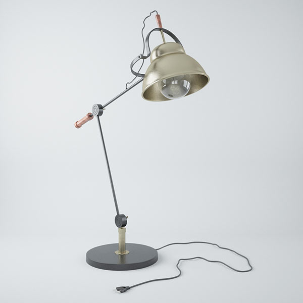 Bennett Desk Lamp 3d model