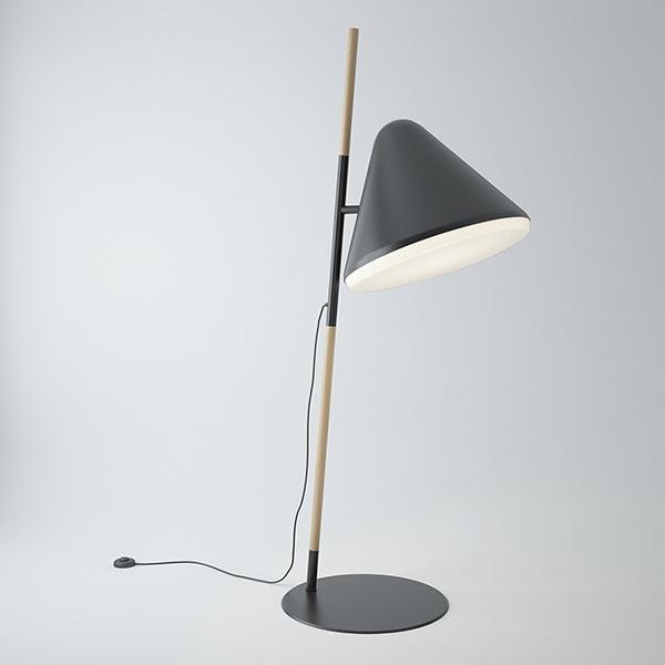 Normann Copenhagen Hello Floor Lamp Download Free 3D models