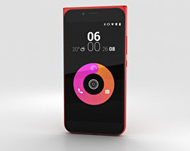 Obi Worldphone MV1 Red 3D model