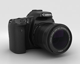 Canon EOS 70D 3D model