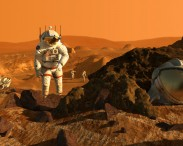 2021: First steps on Mars