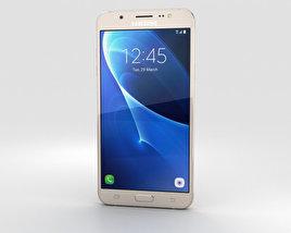 Samsung Galaxy J7 (2016) Gold 3D model