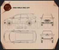 Honda Mobilio 2014 Blueprint