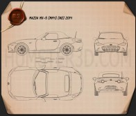 Mazda MX-5 2015 Blueprint
