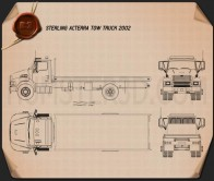 Sterling Acterra Tow Truck 2002 Blueprint