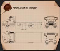 Sterling Acterra Tow Truck 2002 Blueprint