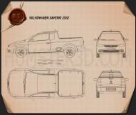 Volkswagen Saveiro 2012 Blueprint