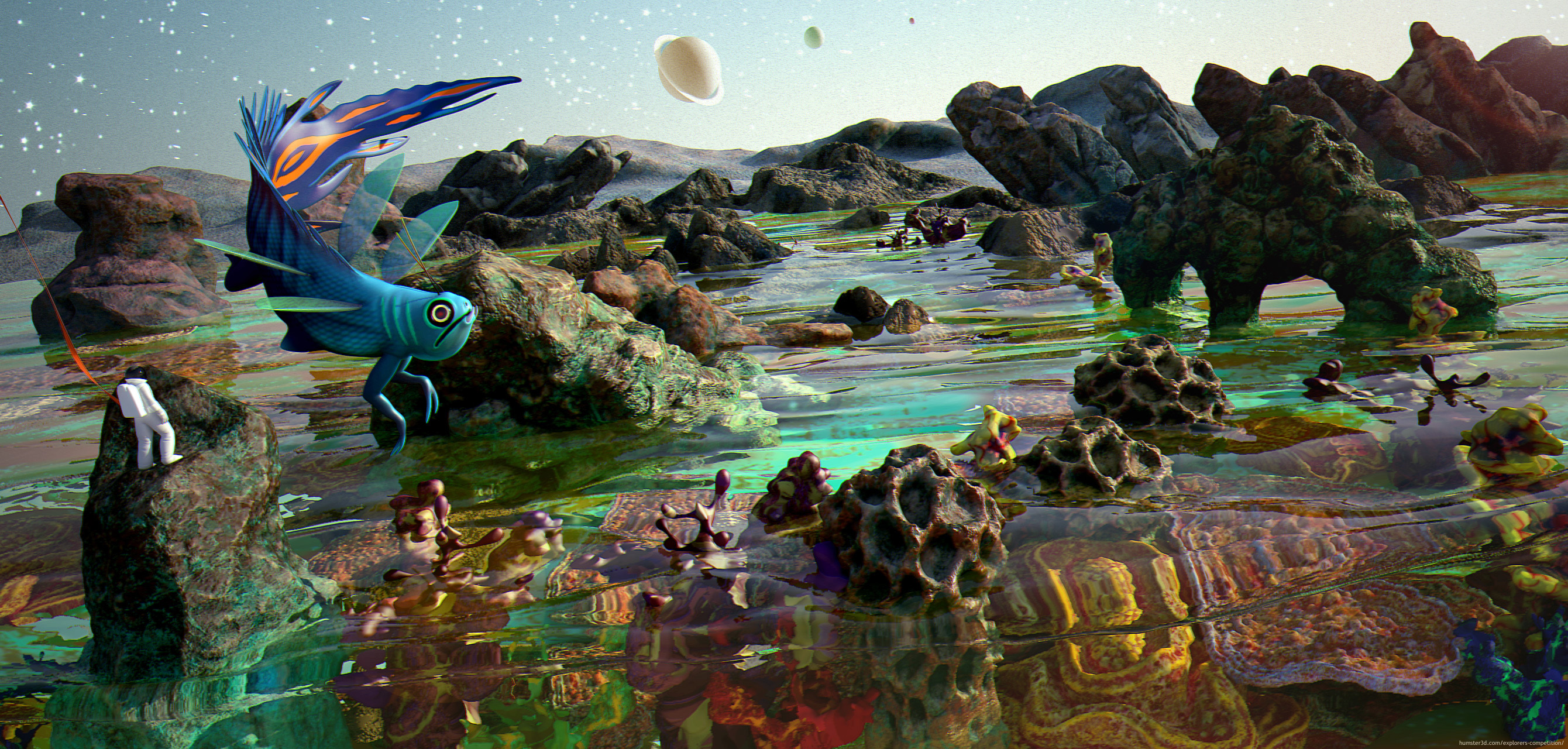 Exploring Kepler926 3d art
