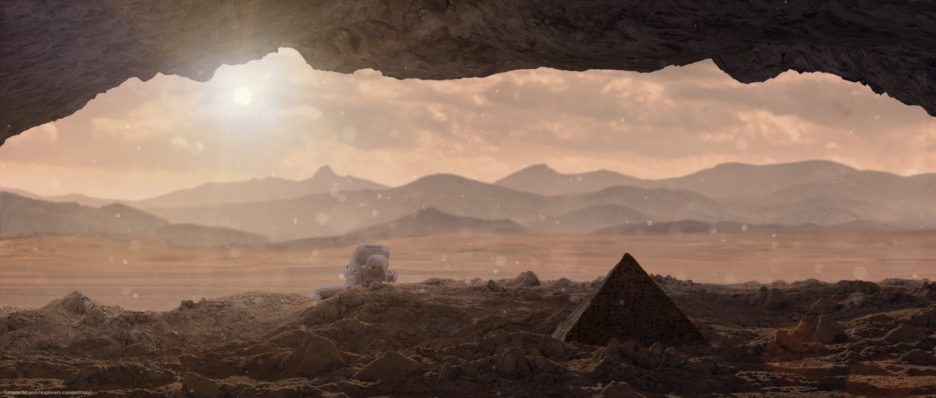 Secrets of Mars 3d art