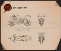 BMW S1000RR 2013 Blueprint