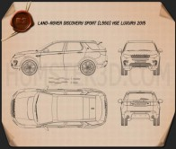 Land Rover Discovery Sport HSE Luxury 2015 Blueprint