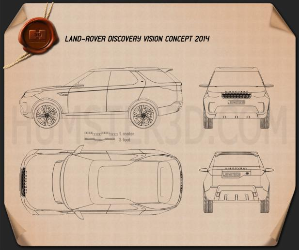 Land Rover Discovery Vision 2014 Blueprint