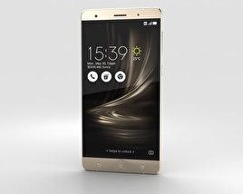 Asus Zenfone 3 Deluxe Shimmer Gold 3D model