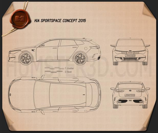 Kia Sportspace 2015 Blueprint
