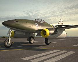 Messerschmitt Me 262 3D model