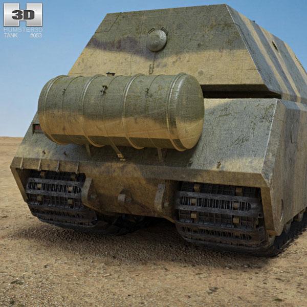 panzer viii maus 3d model hum3d. Black Bedroom Furniture Sets. Home Design Ideas