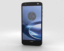 Motorola Moto Z Force Black Lunar Gray 3D model