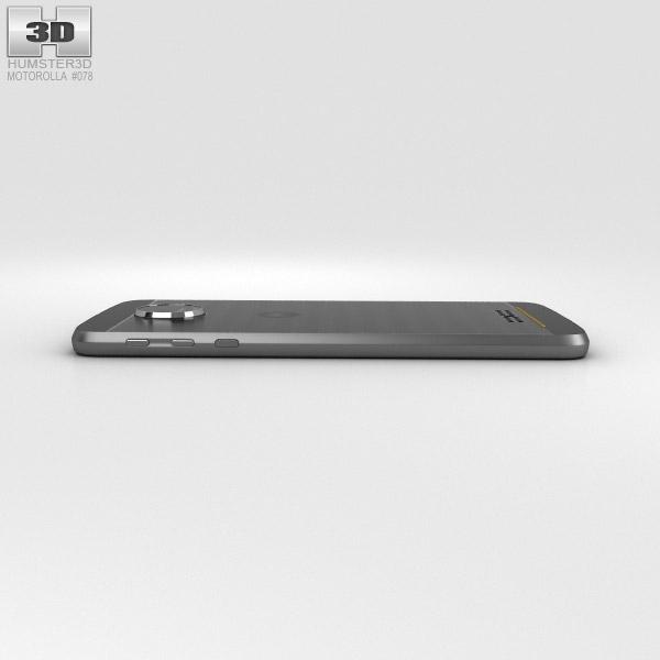 Motorola Moto Z Force Black Lunar Gray 3D model - Hum3D